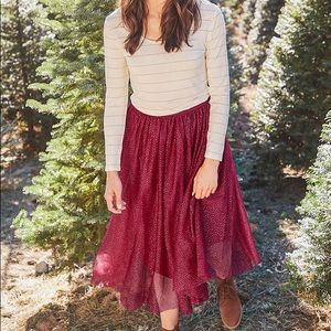 NWT Matilda Jane Sparkle City Skirt